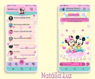 Mickey & Minnie Theme For YOWhatsApp & Fouad WhatsApp By Natalia Luz