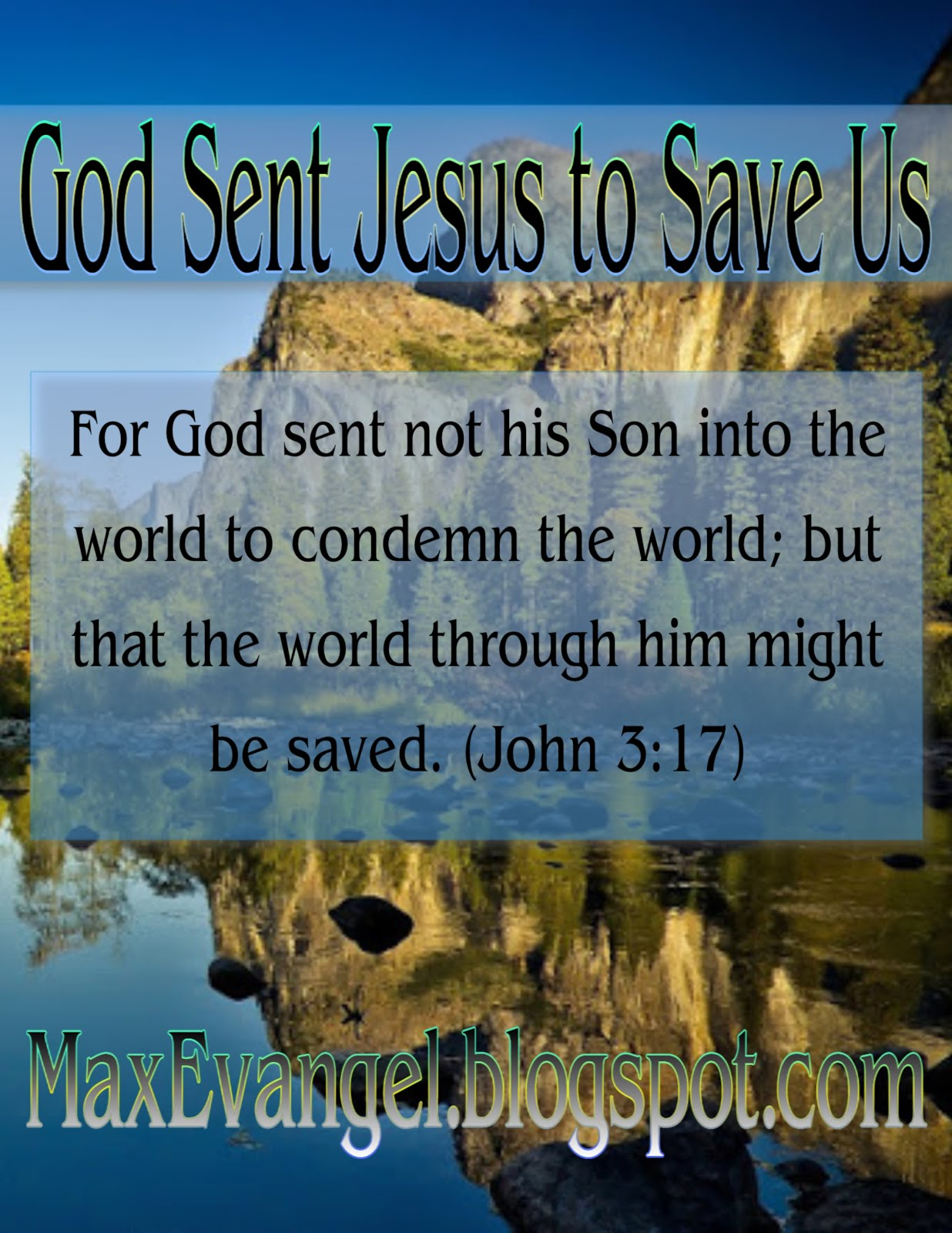 We Need Jesus the Savior