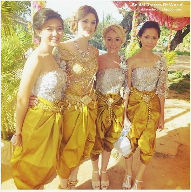 Bridal Dresses Of World: July 2014