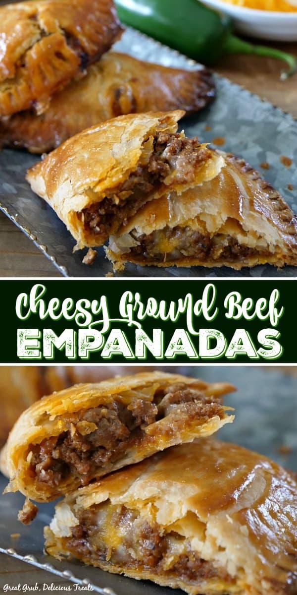 Easy and Delicious Cheesy Ground Beef Empanadas