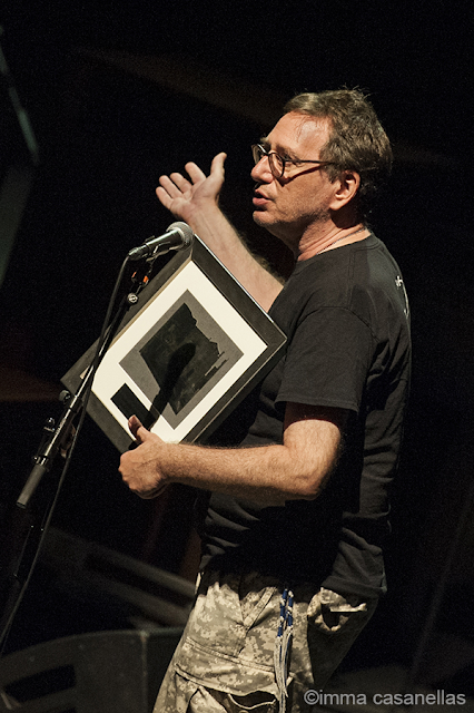 John Zorn rebent el premi Donostiako Jazzaldia 2019, Kursaal, 27/7/2019