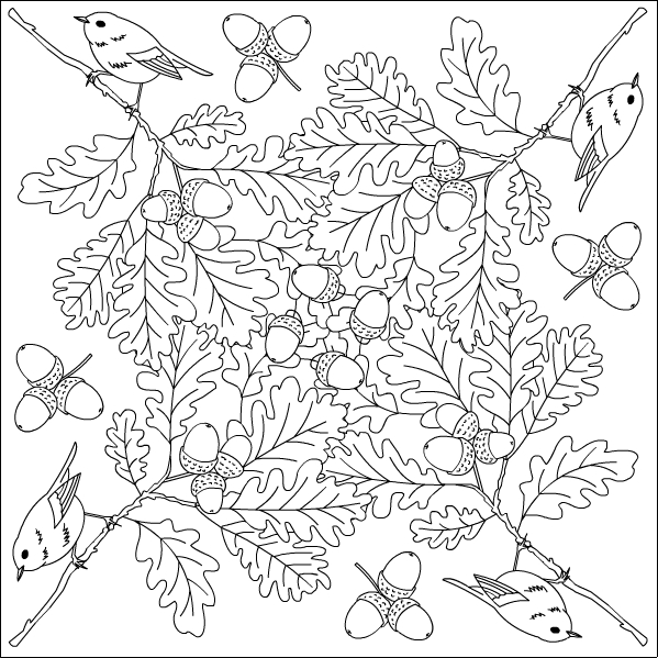 free autumn coloring pages for adults | Nicole's Free Coloring Pages: October 2015