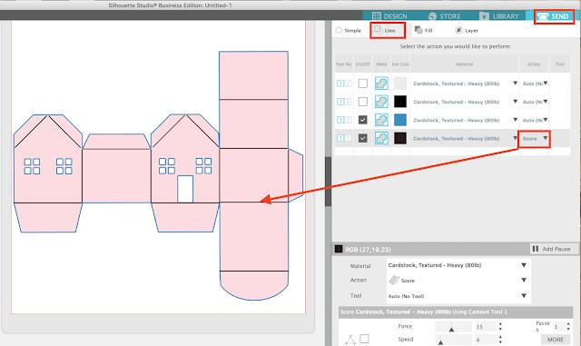 3D Silhouette Designs, Paper Crafts, Score Lines, Silhouette 3D Software, Silhouette Studio