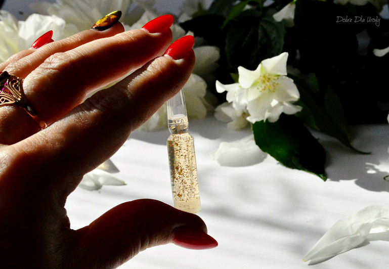 LANBENA 24K Gold Retinol Ampoule Serum liftingująco-nawilżające recenzja