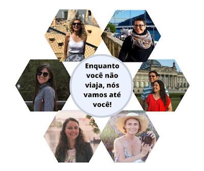 Fotos de vários blogeuiros do projeto: Enquanto você não viaja, nós vamos até você