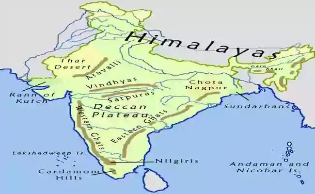 ভারত ইতিহাসে ভৌগোলিক পরিবেশের উপাদান ও প্রভাব