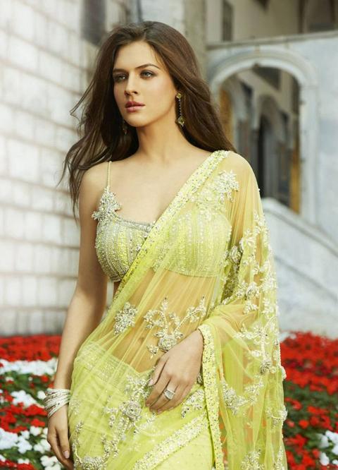 contoh baju sari india