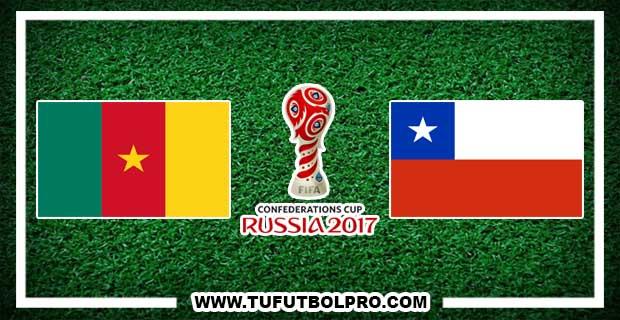 Ver Camerún vs Chile EN VIVO Por Internet Hoy 18 de Junio 2017