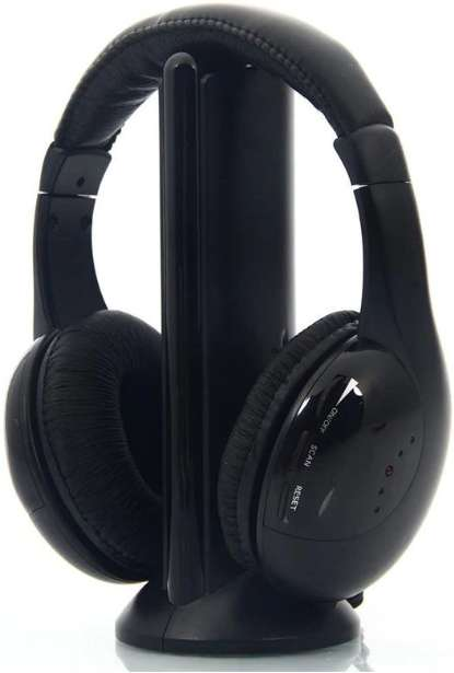 Wireless Headphone 5 in 1 Multifunctional Headphone Earphone Headset