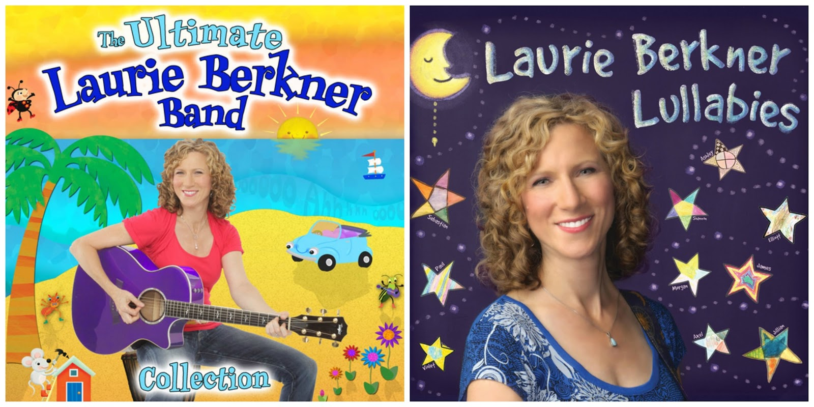One of our favorite children's music artists is Laurie Berkner. Her songs are catchy and classic.