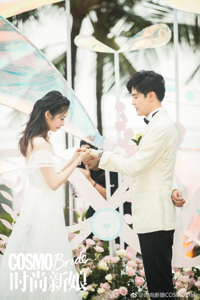 Celebrity Couple Fu Xin Bo and Ying Er Tie the Knot in Bali