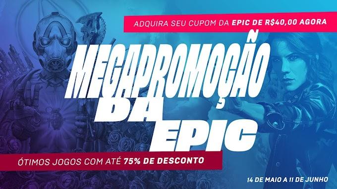 Mega Promoção de Jogos -  Epic Games Store