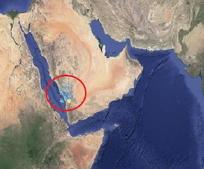 زلزال في السعودية