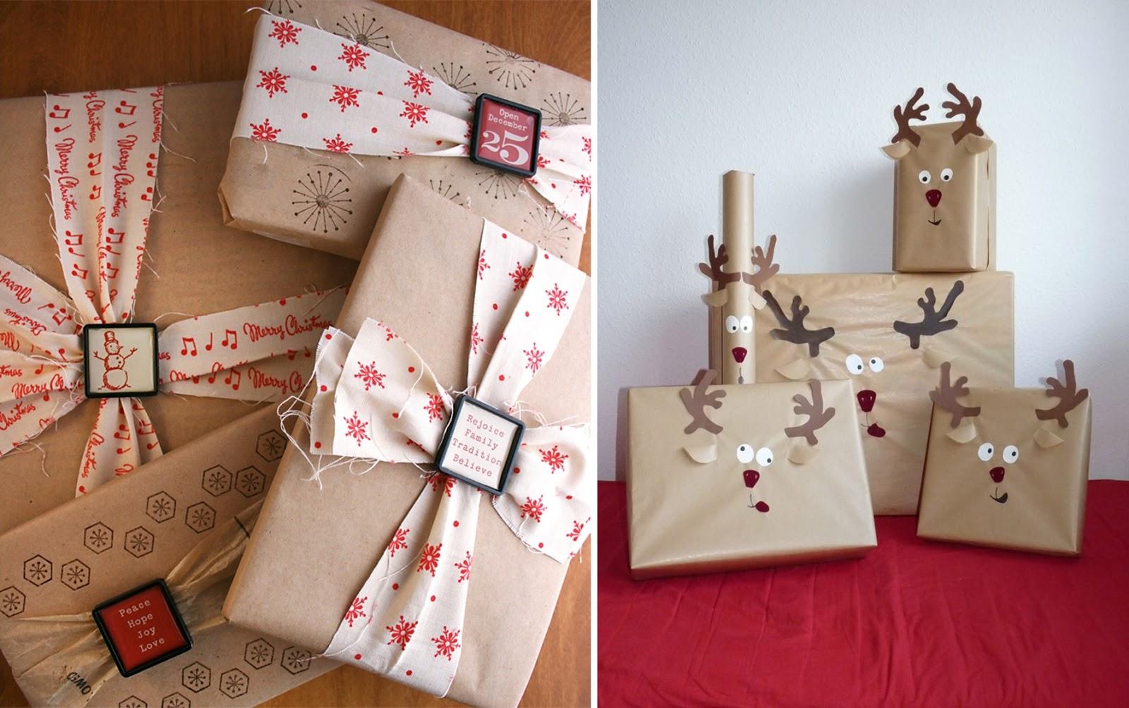 jak pakowac prezenty pomysly inspiracje gwiazdka choinka mikolaj christmas