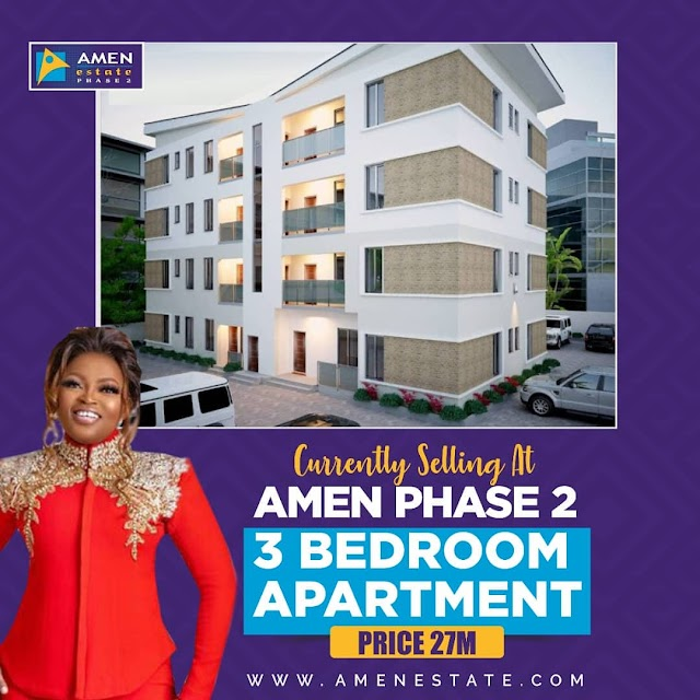 Amen Estate Phase 2: 3 Bedroom Specious Apartment