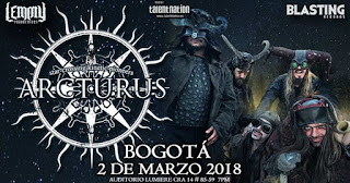 Concierto de ARCTURUS en Bogotá