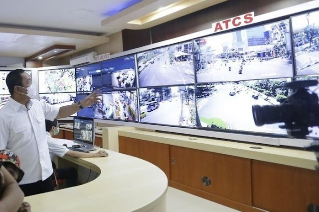 Unik! Wali Kota Semarang Kenalkan Ronda Online Melalui Sistem CCTV