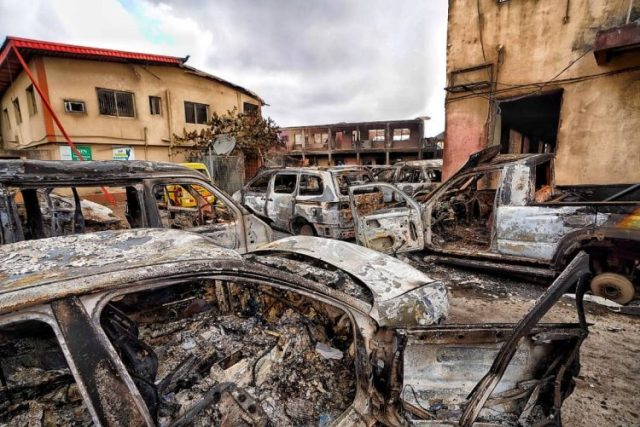 Lagos State To Prosecute Over 200 People For Arson, Mayhem