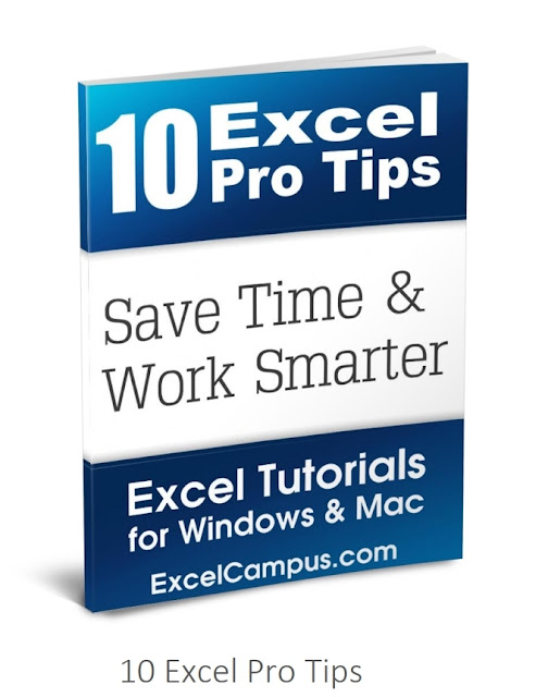 [Free ebook]10 Excel Pro Tips full 2019 + Workbook file