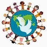 PAGE 2 - MULTICULTURAL: FRIENDSHIP GLOBE ART + BORDER ...