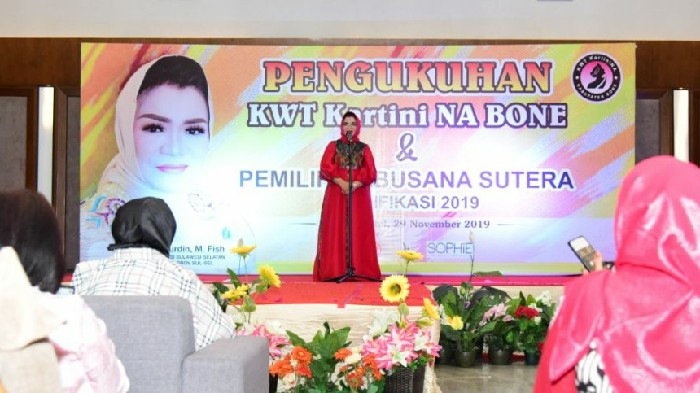 Lies F Nurdin Sebut Angka Stunting  di Bone Masih Tinggi