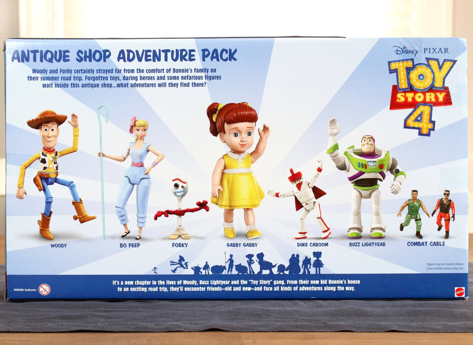 mattel toy story 4 antique shop gift set