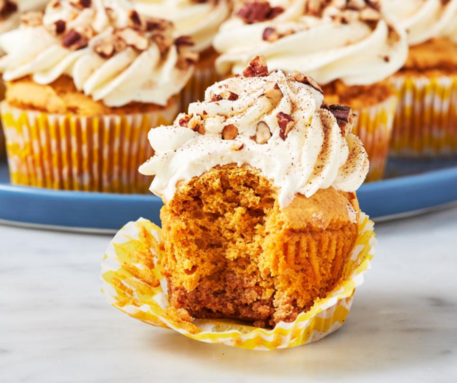 Sweet Potato Pie Cupcakes - food-drink-recipes.com