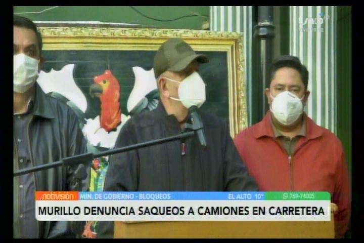 Murillo amenaza a aquellos asesinos y ladrones afrontar lo que se les viene