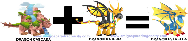 como sacar el dragon estrella en dragon city combinacion 2