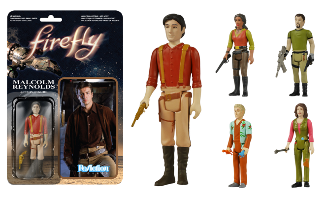 Firefly Action Figures