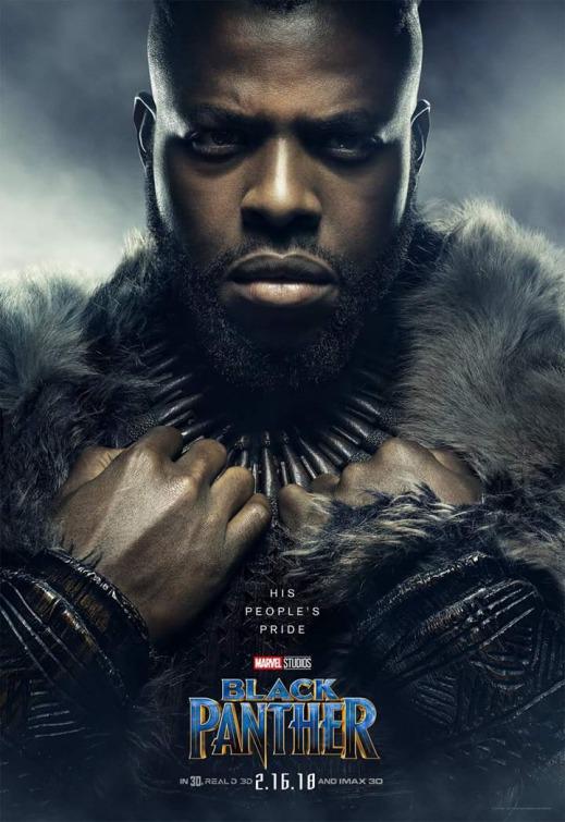 Black Panther MBaku poster