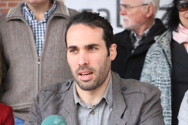 Eder Álvarez, portavoz de Irabazi