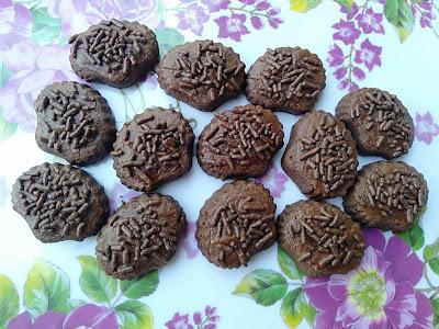 Biskut Coklat Rice
