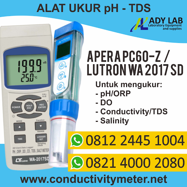 PH DO METER lutron wa 2017 sd