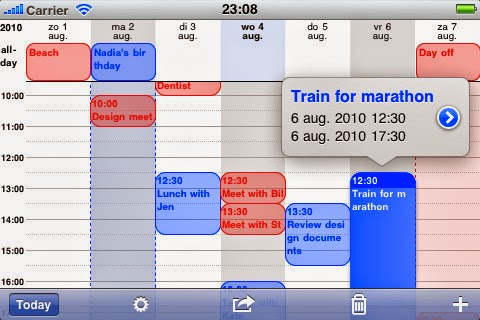 See a more detailed calendar