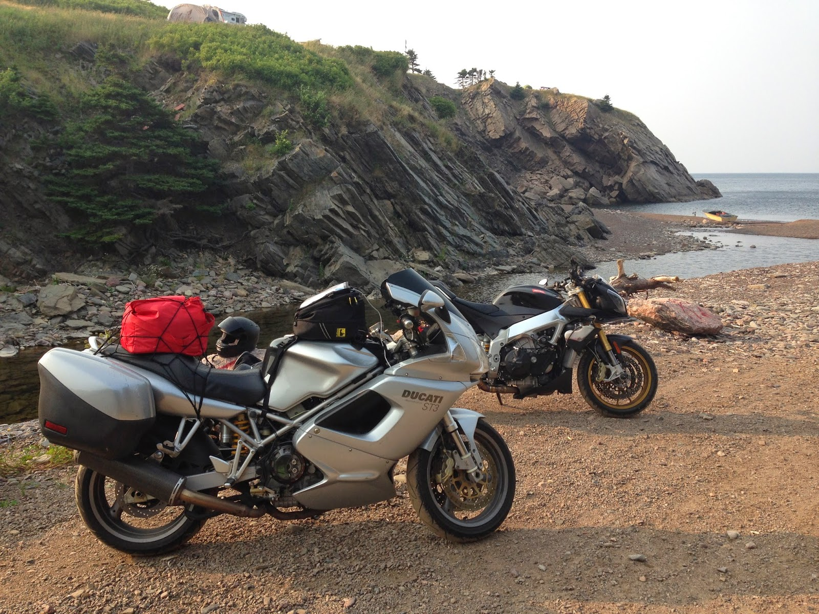 Tigho NYDucati: Nova Scotia: 2500 Miles around the Cabot Trail