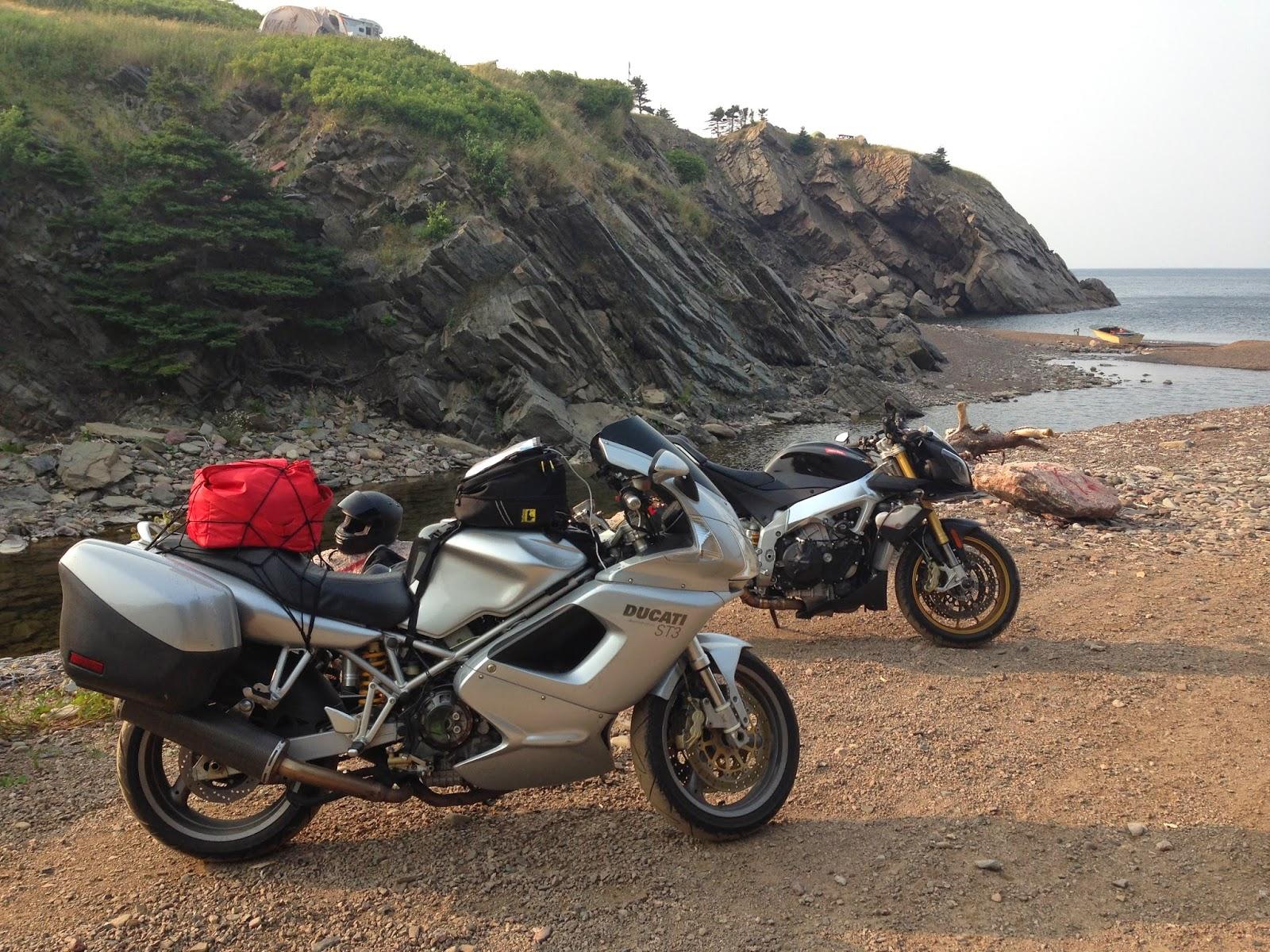 Tigho NYDucati: Nova Scotia: 2500 Miles around the Cabot Trail