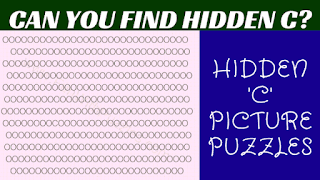 Can you find the hidden 'C' in these simple brain teasers picture puzzles?