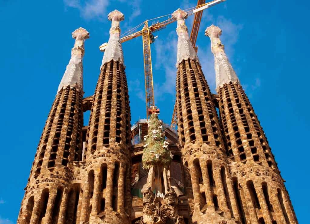 Torres de La Sagrada Familia