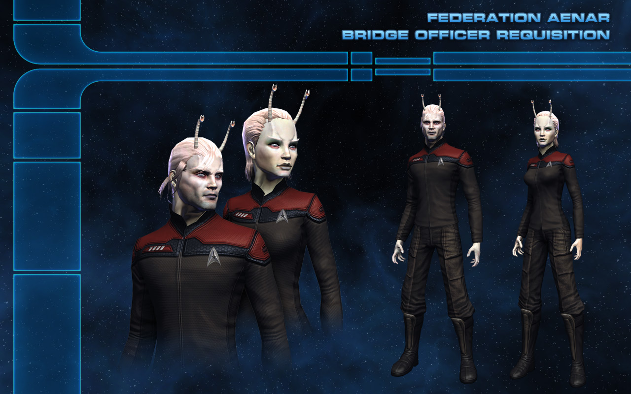 the trek collective aenar and caitians in sto