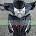 Sơn xe Honda Wave RSX màu đen nhám [Wave_SG2016]