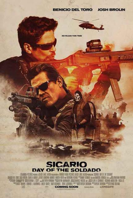 هذه هي أفضل أفلام الأكشن والحروب في سنة 2018 لحد الآن فيلم sicario day of the soldado