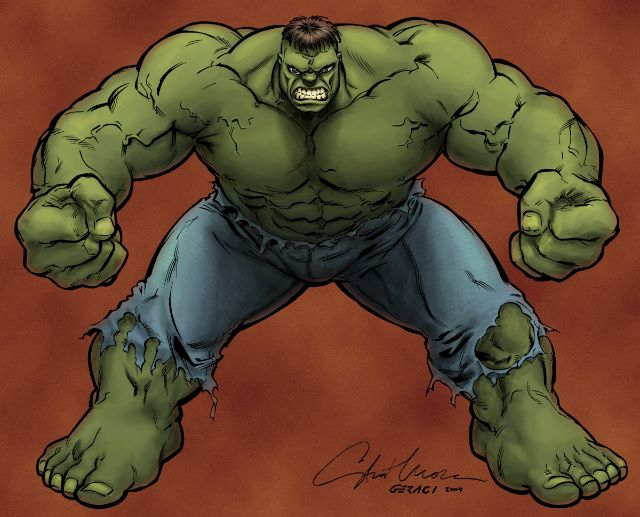 Hulk Coloring Pages - Lets coloring!