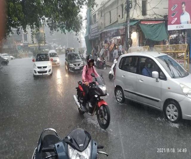 उत्तराखंड समाचार: दून-नैनीताल समेत सात जिलों में भारी बारिश का अलर्ट ।