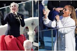 Lady Gaga dan Jennifer Lopez Meriahkan Pelantikan Joe Biden dan Kamala Harris