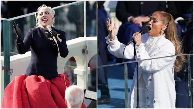 Lady Gaga dan Jennifer Lopez Meriahkan Pelantikan Joe Biden dan Kamala Harris.lelemuku.com.jpg
