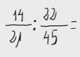27.    División de números racionales