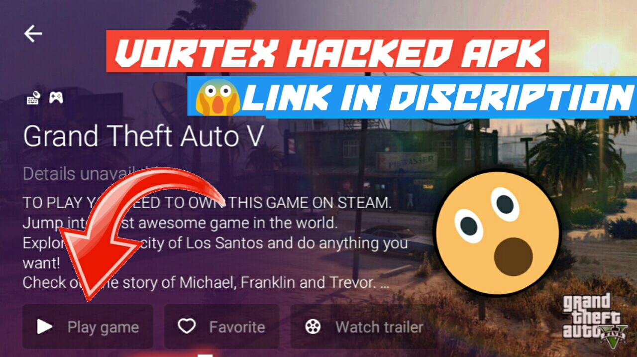 OMG]😱How to Play Real GTA 5 in VORTEX hacked app Download now