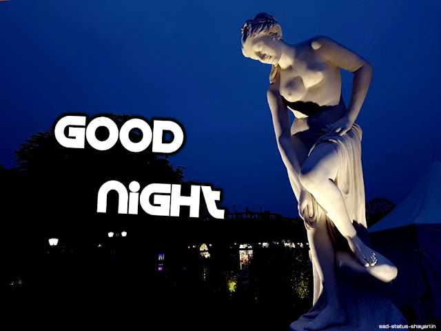 Good night images of  statue