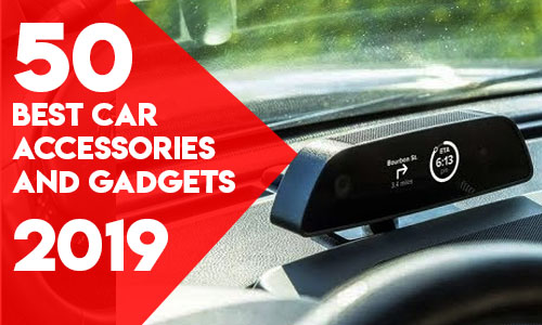 50 Best Car Accessories and gadgets